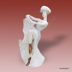 Porcelánová soška - Tanečnice 22208 pastel