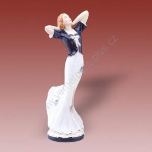 Porcelánová soška - Vysoká dáma 22265 isis