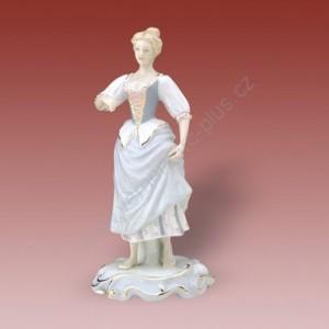 Porcelánová soška - Zahradnice s velkou sukní  22241 luxor