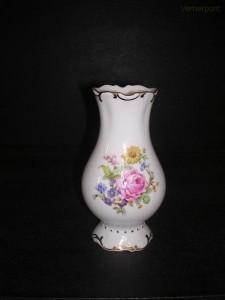 Porcelánová váza reliéfní malá 25111 16 cm