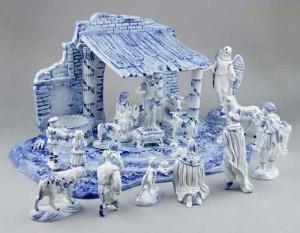 Porcelánové figurky - Betlém