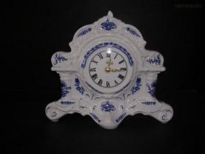 Porcelánové sloupové hodiny 25 cm