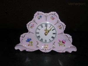 Porcelánové stojací hodiny, 20 cm