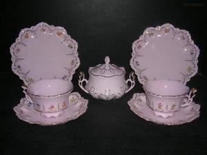 Přátelská čajová souprava Lenka