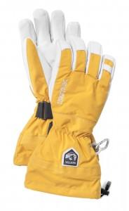 Prstové rukavice Army Leather Heli Ski 30570 žluté dlouhá verze.