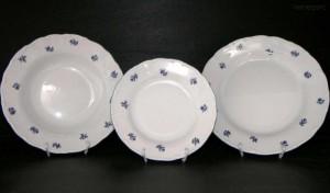 Sada talířů Ofelie 673V 18d.