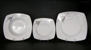 Sada talířů Tetra 023V 18d.