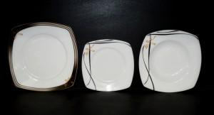 Sada talířů Tetra 049V 18 dílná.