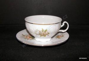 Šálek s podšálkem Bernadotte květ čaj 0,2l. EZ023011