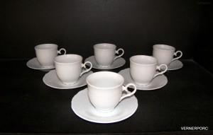 Šálek s podšálkem na čaj, Ofelie 6ks