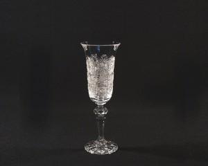 Šampaňská flétna Laura křišťálová broušená 02116/57001/150 150ml. 6ks.