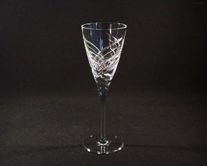Sklenice broušená křišťál víno 215 ml. 10259/11008/215 6ks.