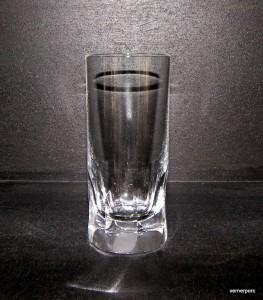 Sklenice Long drink křišťálová ručně broušené plochy 350 ml. 6ks.