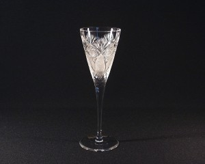 Sklenice víno křišťálová broušená 10259/56523/130 130ml. 6ks.