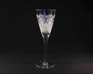 Sklenice víno křišťálová broušená 10259/56523/215 215ml. 6ks.
