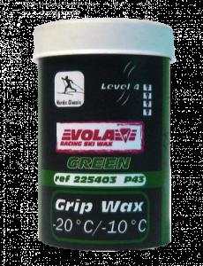 Stoupací vosk STICK P43 zelený 225403 50g. -20°C / -10°C