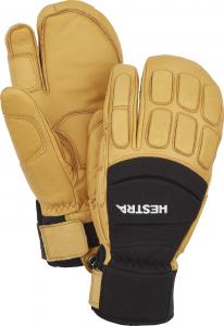 Tříprsté lyžařské rukavice Vertical Cut CZone