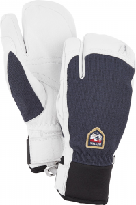 Tříprsté rukavice Army Leather Patrol Navy