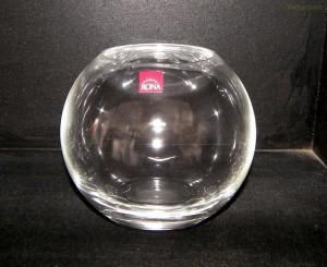 Váza koule 17,5 cm.