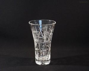 Váza křišťálová broušená 80018/22006/205  20,5cm.