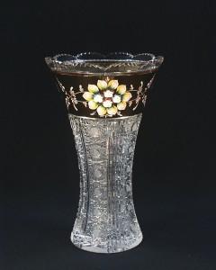 Váza křišťálová broušená 80021/57011/305  30cm.