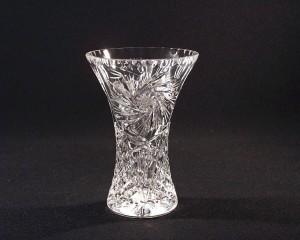 Váza křišťálová broušená 80029/26008/155  15,5 cm