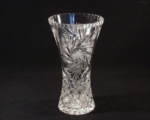 Váza křišťálová broušená 80029/26008/230 23cm.