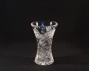 Váza křišťálová broušená 80029/35003/180 18cm.