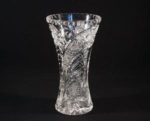 Váza křišťálová broušená 80029/35003/230 23 cm.
