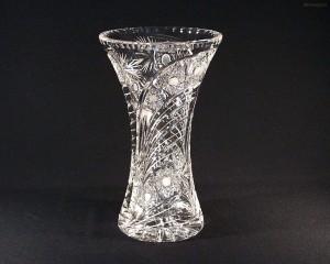 Váza křišťálová broušená 80029/35003/305 30,5 cm.