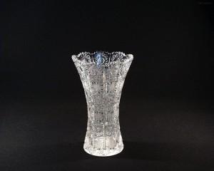 Váza křišťálová broušená 80029/57001/205 20,5 cm.