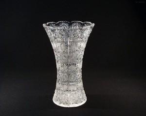 Váza křišťálová broušená 80029/57001/255 25,5 cm.