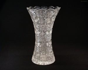 Váza křišťálová broušená 80029/57001/305 30,5 cm.