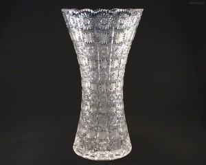 Váza křišťálová broušená 80029/57001/410  41cm.