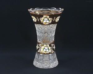 Váza křišťálová broušená 80029/57111/305 30,5 cm.