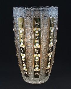 Váza křišťálová broušená 80756/57113/405  40cm