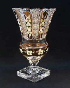 Váza křišťálová broušená 83046/57113/355 35,5cm