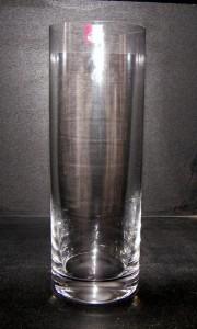 Váza válec 30cm.