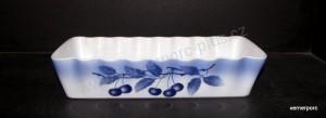 Zapékací mísa srnčí hřbet dekor Blue Cherry