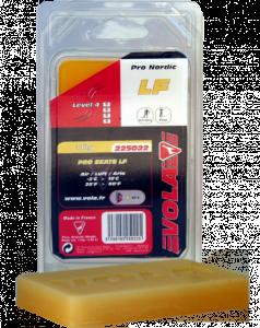 Závodní běžecký fluorový vosk žlutý PRO SKATE LF 225022 -2 °C / 15 °C 110g.