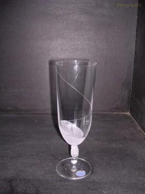 Sklenice Fleur mat 380 ml. pivo 6 ks Crystalex