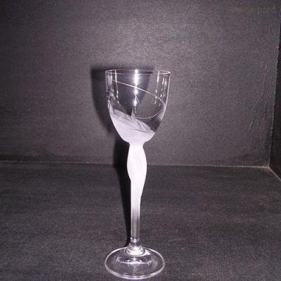 Sklenice Fleur mat 60 ml. likér  6ks Crystalex