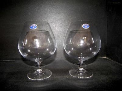 Sklenice Vintage 875 ml. brandy 2ks Crystalex