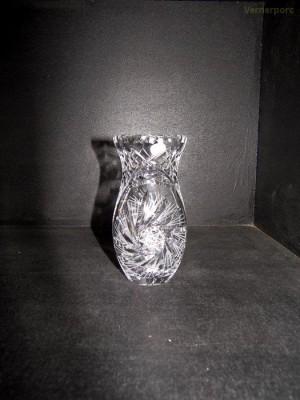 Váza 88382/26008/155  15,5cm. Sklo Bohemia