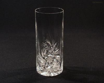 Sklenice křišťál brus long drink větrník 20001/26008/350  350 ml. 6ks Tom Crystal Bohemia