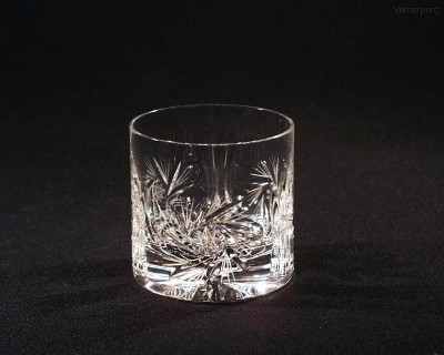 Sklenice křišťálová broušená whisky větrník 20006/26008/200  200 ml. 6 ks Tom Crystal Bohemia