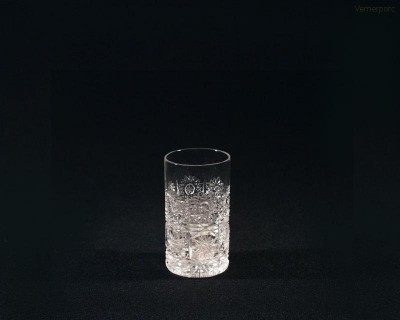 Likérka křišťálová broušená 24001/57001/040 40ml. 6ks. Tom Crystal Bohemia