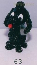 Pes pudl černý 63 HD