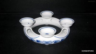 Adventní svícen 21,5cm Český porcelán