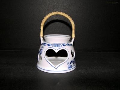 Aromalampa se srdíčkem Český porcelán